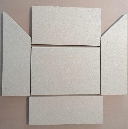 Vermiculitesatz komplett Modelle Morsø S10-40/ S10-45/ S10-70/ 4100/ 4000