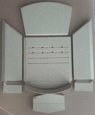 Vermiculite-Satz komplett mit Seitenscheiben Lotus Prio-Serie