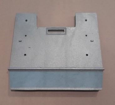 Innere Rückplatte Modelle Morsø 2110/2140 mit Tertiärluft