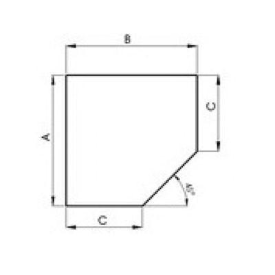 Stahlbodenplatte Fünfeck