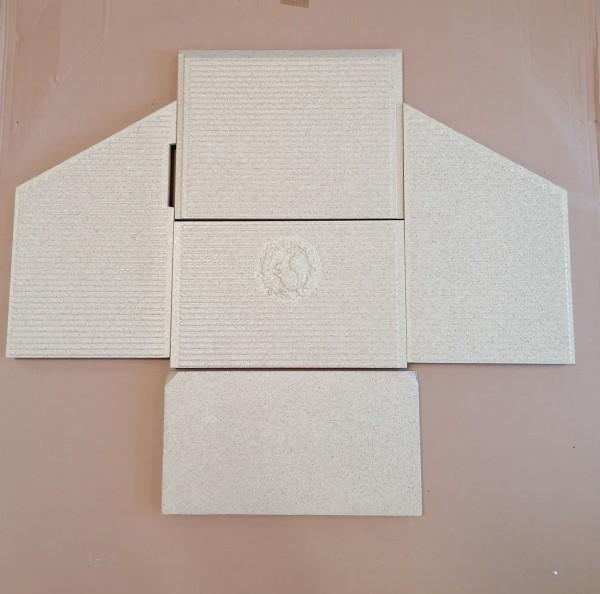 Vermiculitesatz komplett für Morsø 81../8259/87../88..-Modelle