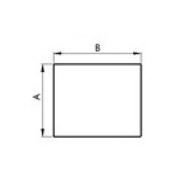 Stahlbodenplatte Rechteck
